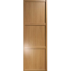 "Shaker Sliding Wardrobe Door 762mm (30"") Windsor Oak Panel Door"
